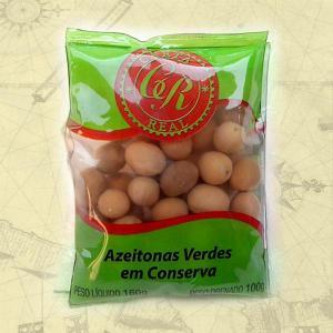 AZEITONA VERDE C/C EM CONSERVA 30X100g
