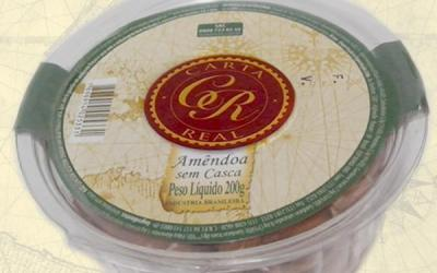 AMENDOA S/C CARTA REAL - 24X200g